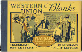westernunion telegram wu history westerns