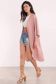 cardigan kimono blush cardigan satin cardigan pink cardigan blush