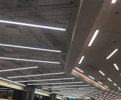 high output led strip lighting led extrusion p7 for ultra bright linear suspended led strip