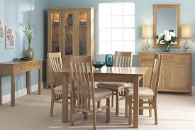 oak dining room set nimbus oak dining room furniture corndell furniture