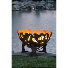 Custom Metal Fire Pits by Forest Fire