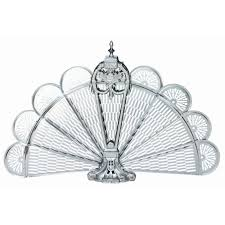 ideas u0026 tips uniflame corporation pewter ornate fan fireplace