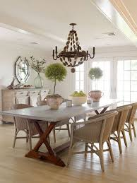 Best Dining Tables Images On Pinterest Kitchen Table And - Round dining table with wicker chairs