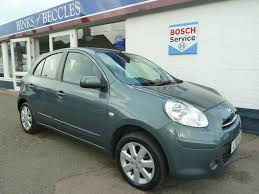 used nissan micra acenta 2011 cars for sale motors co uk
