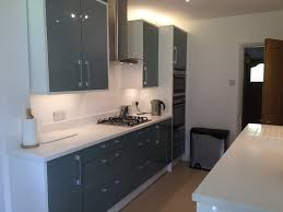 Corian Work Surfaces Blue Quartz With White Corian Worktops Nice And Cool For Summer