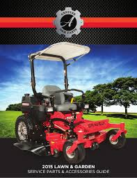 2015 lawn u0026 garden service parts u0026 accessories guide