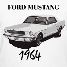 ford mustang 1964 ford mustang 1964 t shirt spreadshirt