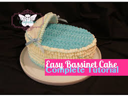 bassinet cake how to make a bassinet cake beginner cake