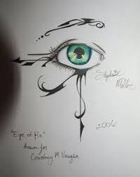 an interpretation of the eye of rah an ancient