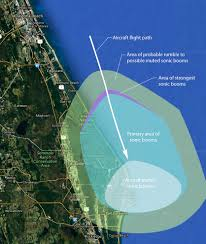 Port Canaveral Map Nasa To Produce Sonic Booms At Kennedy Space Center For Research