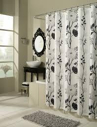 Black White Shower Curtain Shower Curtains M Style Designs Monika Murray