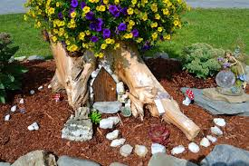 How To Build A Stump by Tree Trunk Ideas That Make Excellent Decor For Your Garden