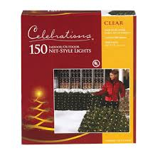 White Christmas Tree Walmartca by Clear Net Lights 4 U0027 X 6 U0027 150 Clear Net Lights String Lights