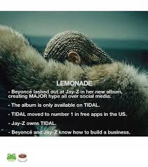 Beyonce New Album Meme - lemonade beyonc礬 lashed out at jay z in her new album creating