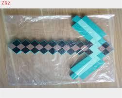 minecraft ribbon aliexpress buy 45cm weapons minecraft sword toys