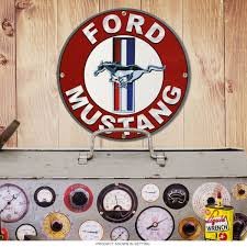 ford mustang home decor garage decor and garage decorating ideas at retroplanet com