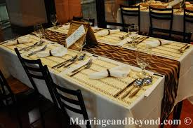 Fine Dining Table Set Up by Degustation At A I C A The Academy For International Culinary
