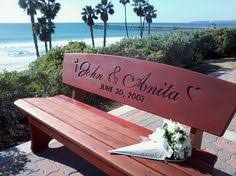 Engraved Benches Wedding Bench Custom Engraved Anniversary Gifts By Boutiquebenches