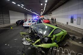 crashed lamborghini as u0027furious 7 u0027 roars into china real life crash smashes
