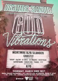 Wynwood Miami Map by Nghtmre U0026 Slander Present Gud Vibrations Miami Music Week