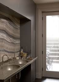 Continuous Backsplashes With Onyx Slabs On Countertops Marble - Onyx backsplash
