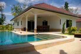 chambre thailandaise thailande villa 3 chambres 3 salles de bain avec piscine privée