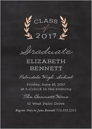 grad invitations 2017 graduation announcements invitations for high school and