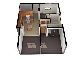 2 bedroom apartment floor plans house with large windows one
