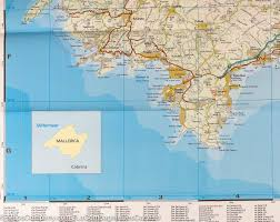Girona Spain Map by Map Of Majorca Balearic Islands Spain Reise Know How
