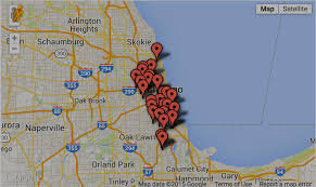 chicago map shootings 2 dead 47 wounded in chicago weekend gun violence chicago sun times