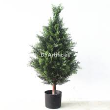 3ft outdoor potted artificial cedar tree dongyi