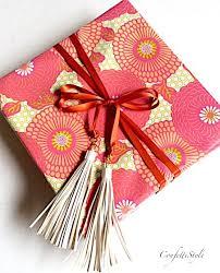 gift wrap ribbon gift wrap inspiration tassel ribbon tie confettistyle