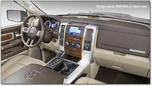 Ram Laramie Limited Interior 2009 Dodge Ram Pickup Trucks Features Safety Styling And Interior