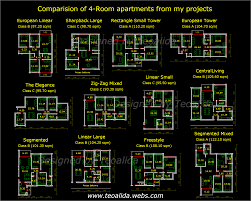 4 Floor Apartment Plan by Wonderful Apartment Floor Plans Dwg Unit House Plan And Decor