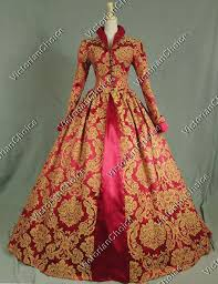 elizabeth i tudor gothic jacquard christmas dress game of