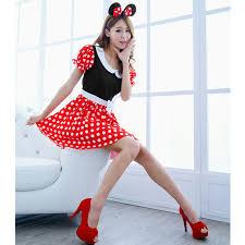 Minnie Mouse Halloween Costume Adults Minnie Mouse Cosplay Promotion Shop Promotional Minnie Mouse