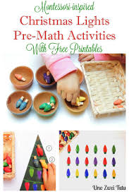 christmas lights pre math activities for preschoolers with free
