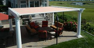 How To Cover A Pergola From Rain by Pergola Awnings Retractable Roof Ke Durasol