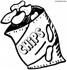 chips coloring pages coloring pages to download and print