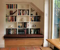 Bookshelf Seat Bookcase With Bench Seating
