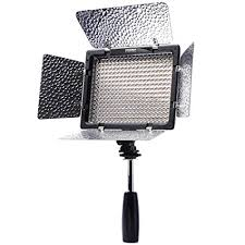 remote audio video lighting amazon com yongnuo yn300 ii led video light for camera camcorder