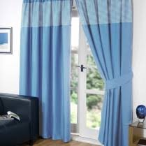 pencil pleat tape top gingham curtains