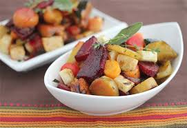 Roasted Vegetable Recipes by Oven Roasted Vegetables With Sage And Thyme Recipe Jeanette U0027s