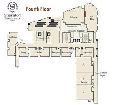 New Orleans Floor Plans 42nd Annual Meeting Guide Sheraton New Orleans Floor Plans