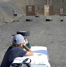 target in the summit at more people more problems at summit county gun range