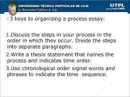 an example of chronological order chronological order process essays