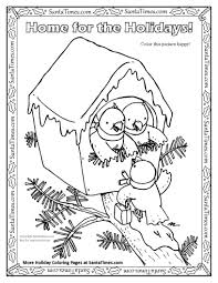 there u0027s no place like home for the holidays printable coloring page