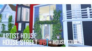 artist house the sims 4 artist house house street project 6 house tour