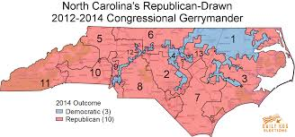 Map Of Red And Blue States by The Top 10 Most Gerrymandered States In America U2013 Rantt