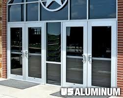 Exterior Aluminum Doors Crl Arch U S Aluminum Entrance Doors